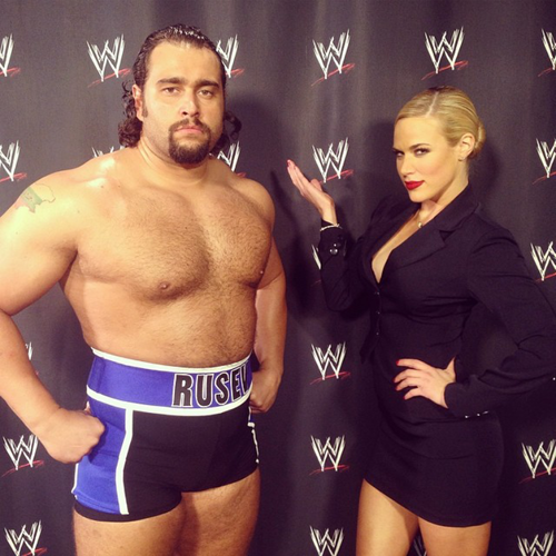 the rock and rusev lana dating