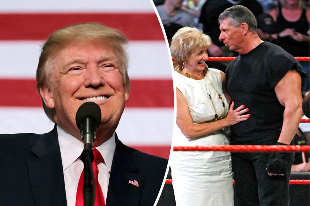 donald-trump-in-the-ring-and-vince-mcmahon-and-his-wife-linda-561120
